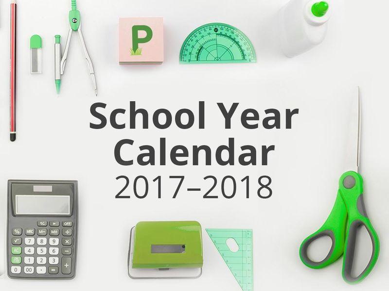 Richmond School Calendar 2017-18 First Day Of School, Vacations