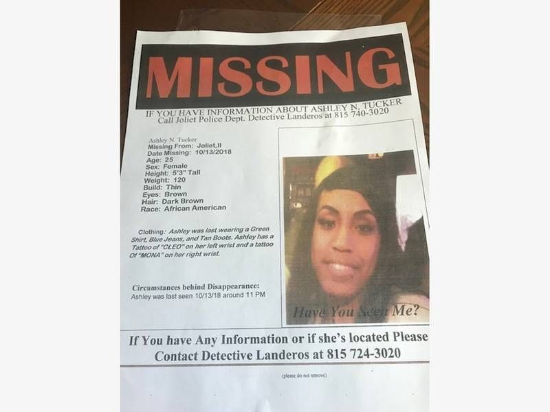Missing Person Posters Now Up For Joliet Woman Patch