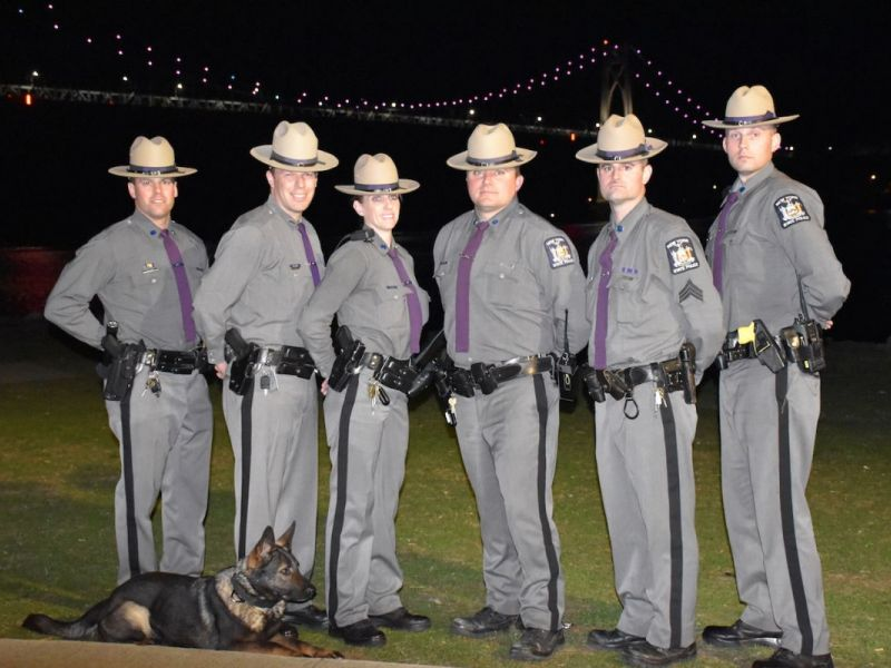 State Police Celebrating 100th Anniversary, New Recruiting Effort - Nys University Police
