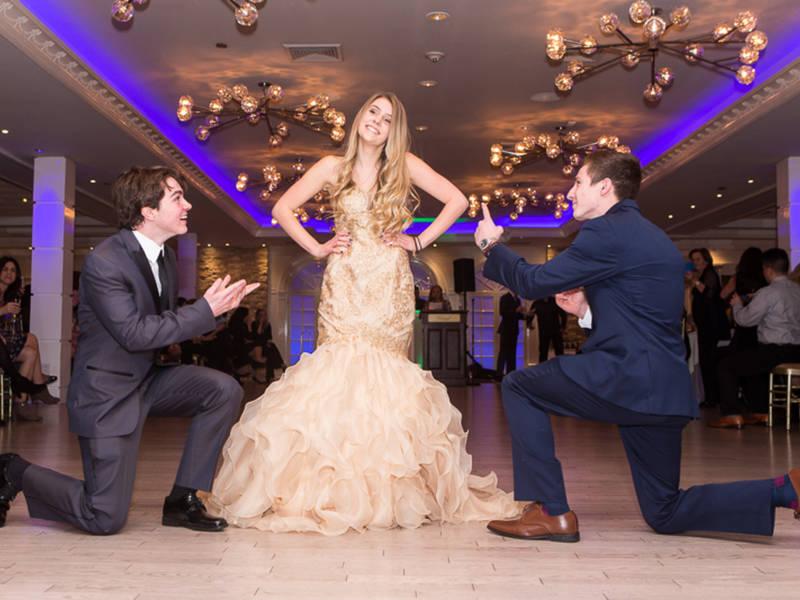 Ward Melville High School Holds Senior Prom Fashion Show Photos - seniors high school
