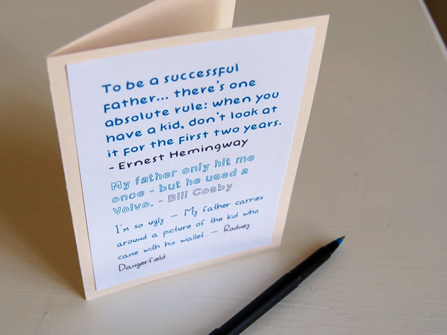 DIY Printable Funny Father\u0027s Day Card - father day cards