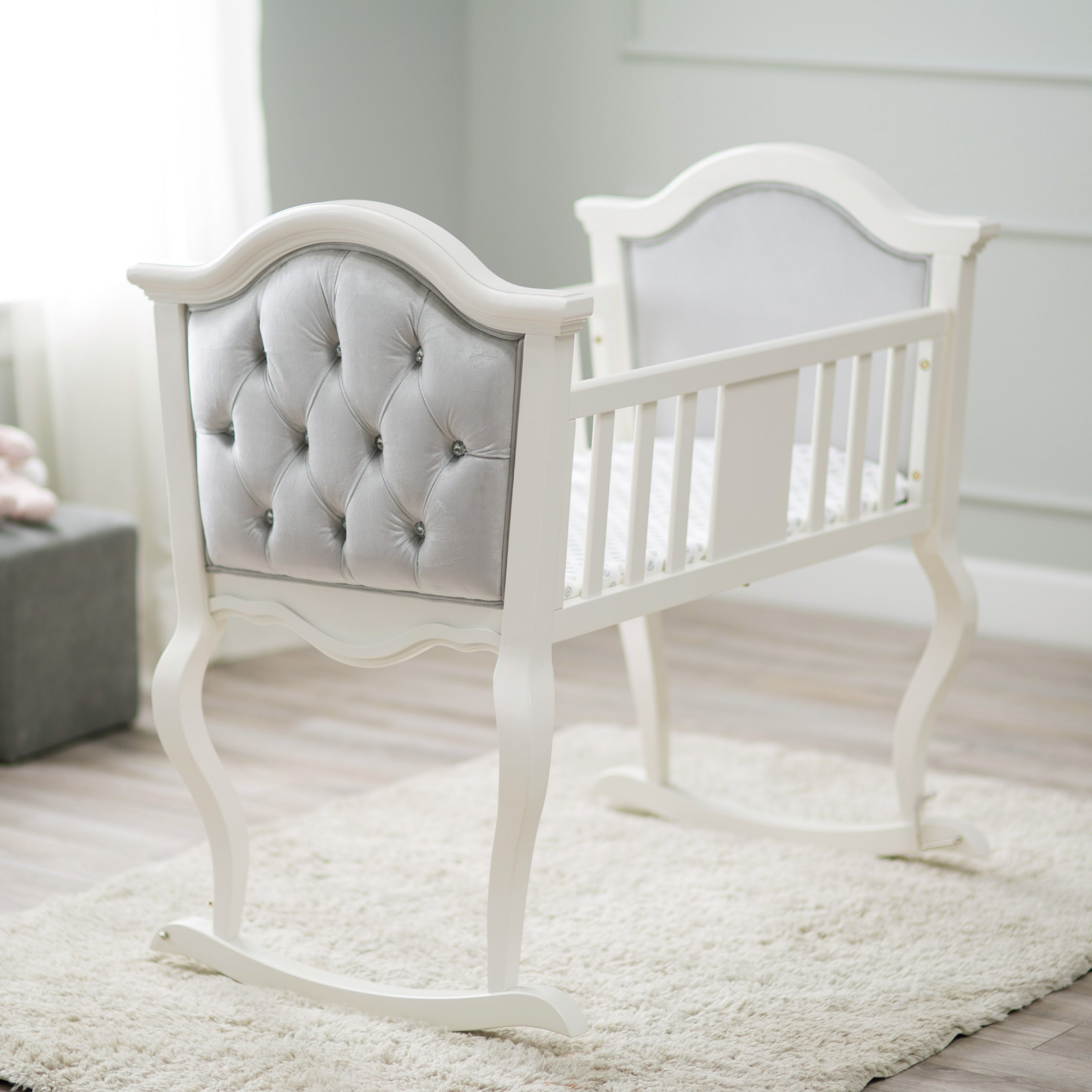 7 Stylish Baby Bassinets You39ll Actually Want In Your Bedroom