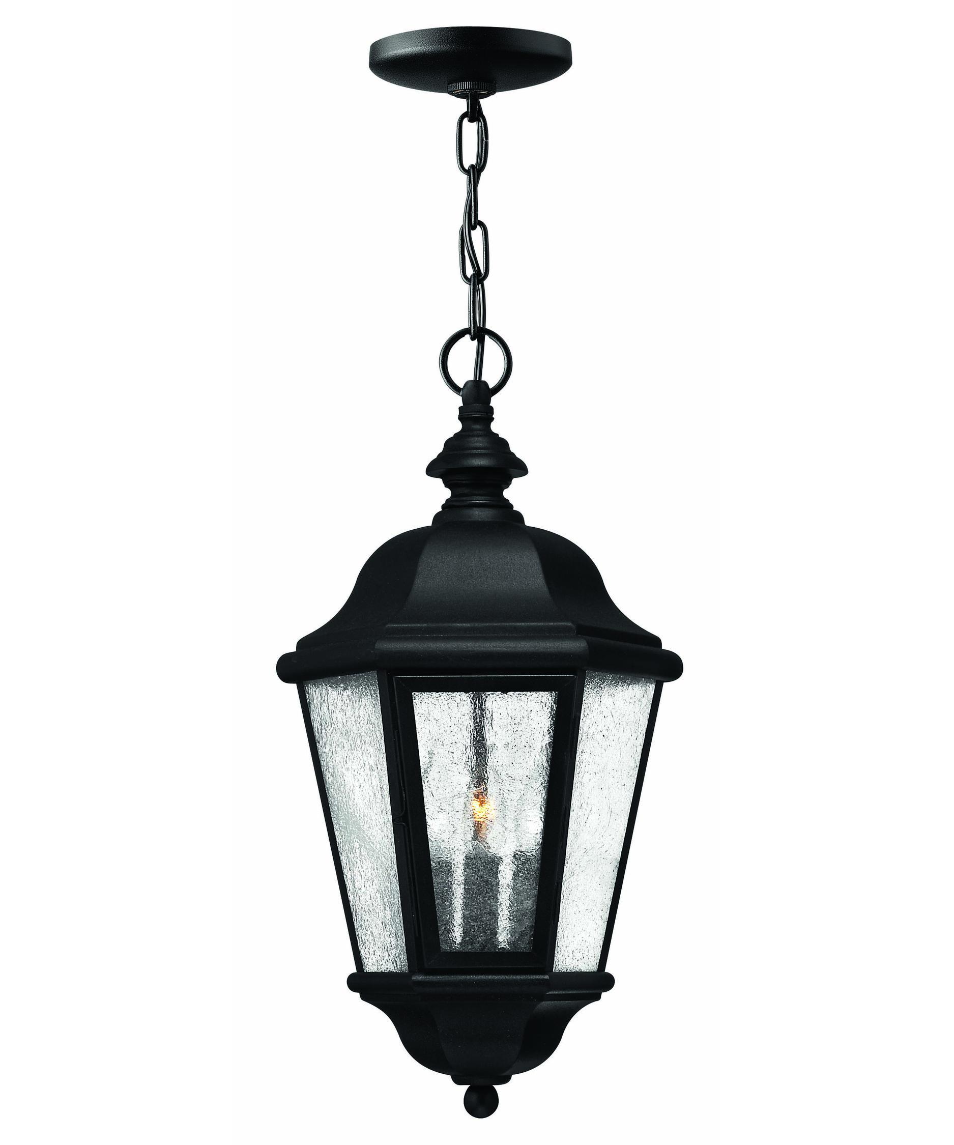 Hinkley lighting 1672 edgewater 10 inch wide 3 light outdoor hanging lantern capitol lighting 1 800lighting com