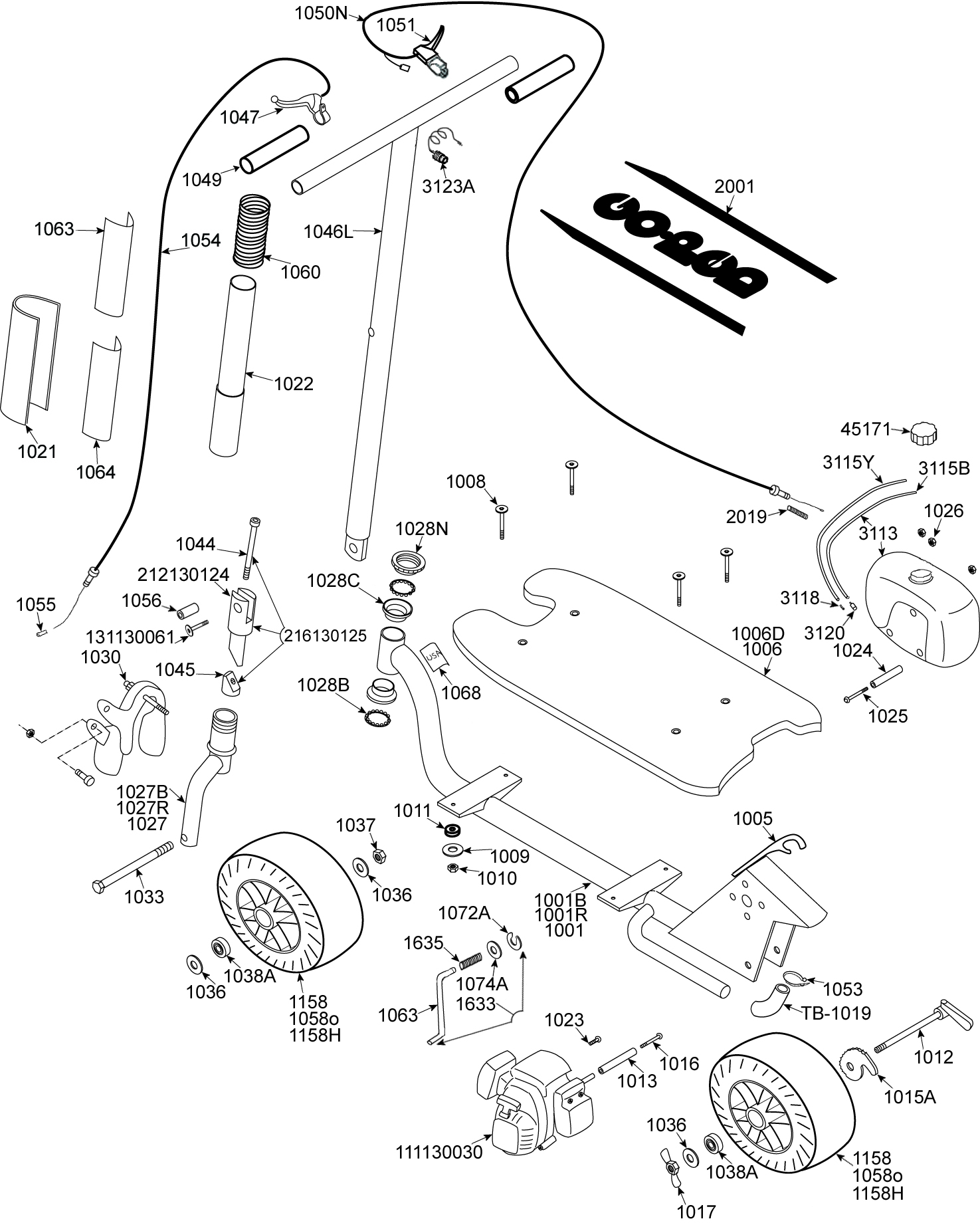 goped gas scooter wiring diagram