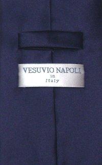 Solid Navy Blue Tie | Mens Navy Blue Necktie