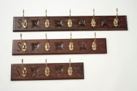 Large Wall Coat Hangers - Hand Carved Mahogany Coat Racks ...