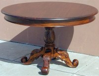 Victorian Round Dining Table | Laurel Crown