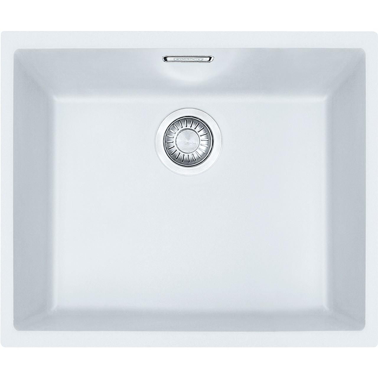 Franke Sirius Sid110 50 Tectonite Polar White Kitchen Sink
