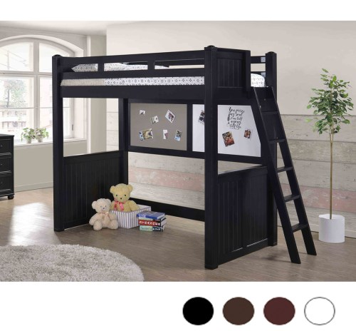 Medium Of Wood Loft Bed