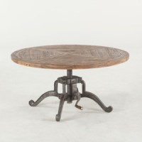 Steampunk Industrial Crank Adjustable Square Table 30 ...