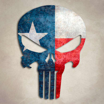 Car Racing Flag Wallpaper Texas Punisher Flag Lone Star Decal