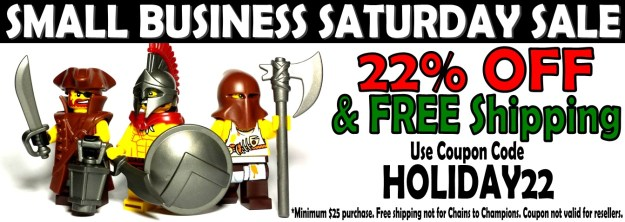 Brick Warriors Small Business Saturday