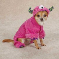 Pink Monster Paws Dog Costume