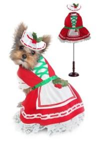 Holly Christmas Dog Costume | Holiday Pet Costume