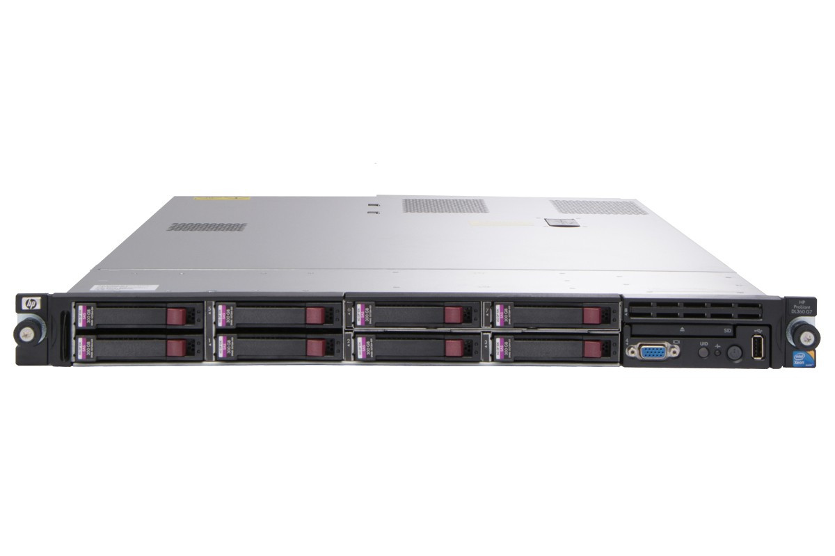 Refurbished Hp Proliant Dl360 G7 Single Cpu Rack Server