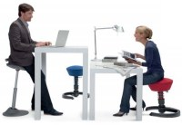 Active Sitting Ergonomic Chairs for Height-Adjustable Work ...