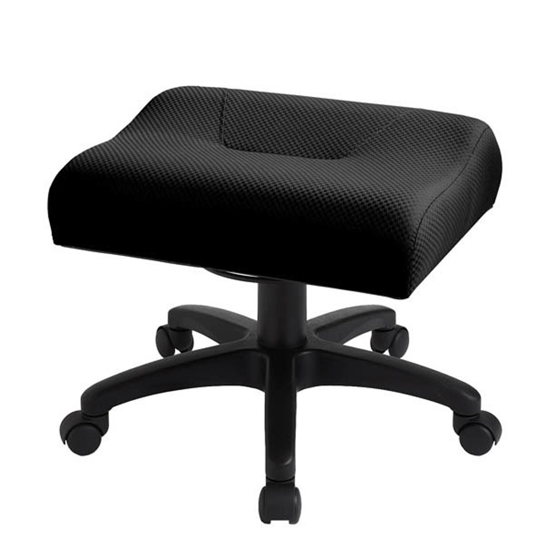 Padded Stool Ergocentric Adjustable Height Leg Rest Padded Foot Stool