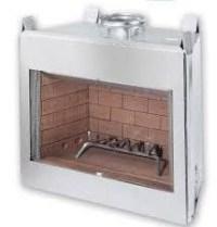 "Stainless Steel 42"" fireplace insert - DIY BBQ LLC"