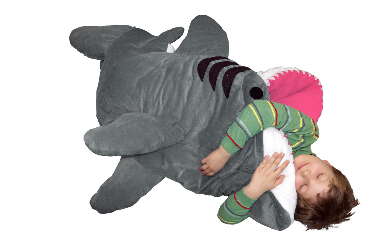 Shark Sleeping Bag New Chumbuddy 3 Jr Great White Shark Sleeping Bag Edition