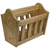Wooden Magazine Rack | Newspaper Rack for Home ...