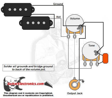 precision bass wiring diagram