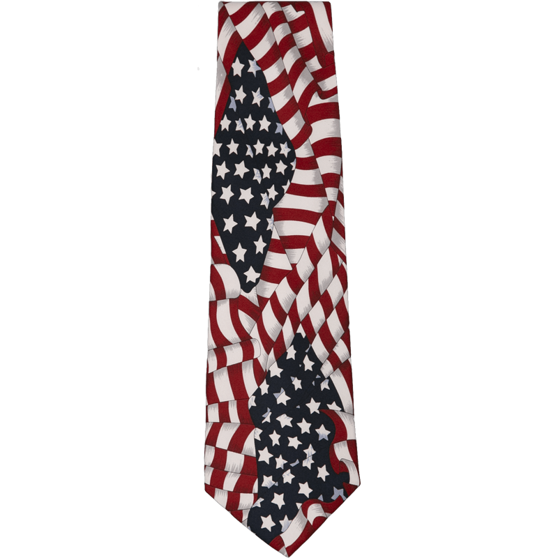 Patriotic Silk Ties