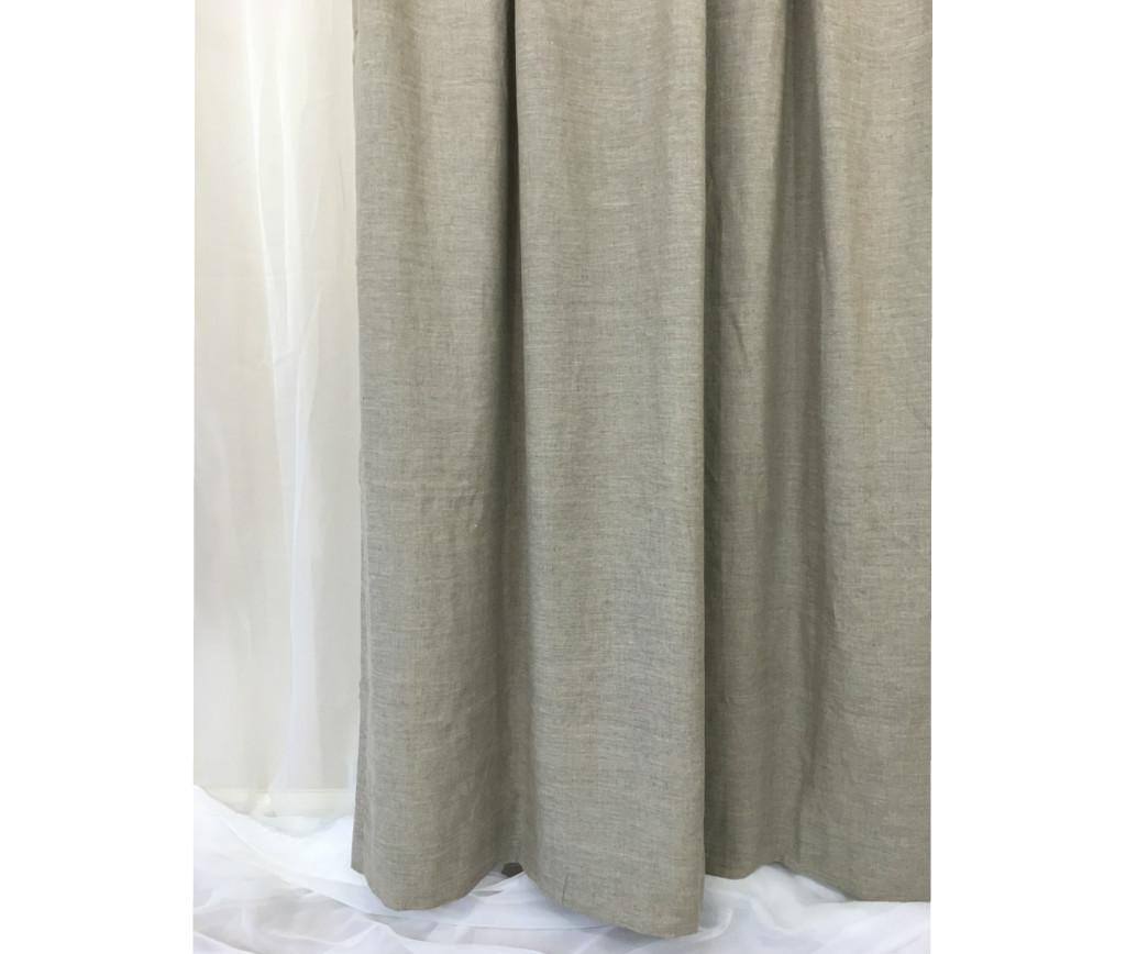 Dark Grey Shower Curtain