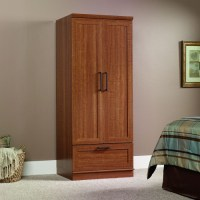 Sienna Oak Wardrobe Clothes Storage Cabinet Armoire
