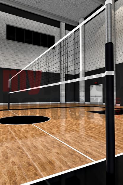 Golf Wallpaper Hd Digital Sports Background Volleyball Court