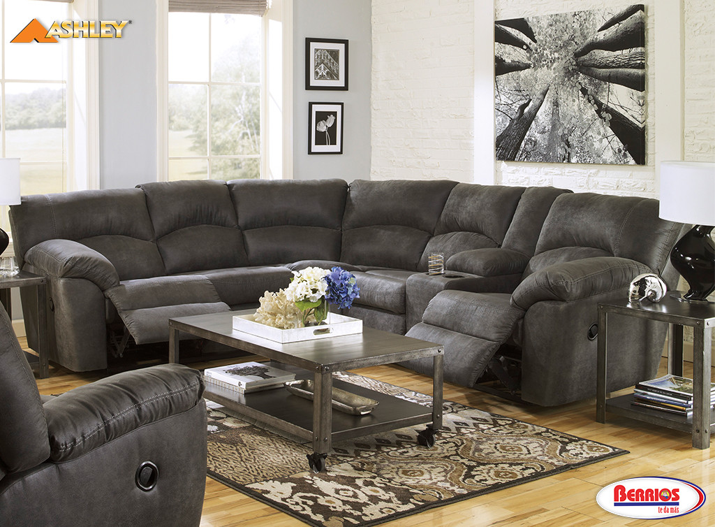 Muebles Ashley En Berrios 27801 Tambo Sectional Living Room - Berrios Te Da Más