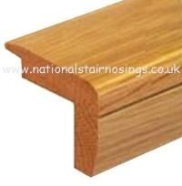 Solid Wood Hardwood Stair Step Nosing For Wooden Flooring ...