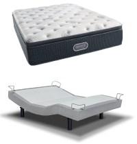 Simmons Beautyrest Silver Plush Pillow Top Mattress with ...