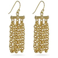 Himalayan Chain Earrings - Museum Shop Collection