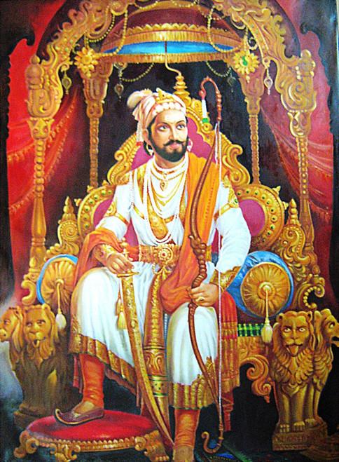 Shivaji Raje 3d Wallpaper Buy Shivaji Maharaj By Vekkas Mahalley Rs 17190 Code