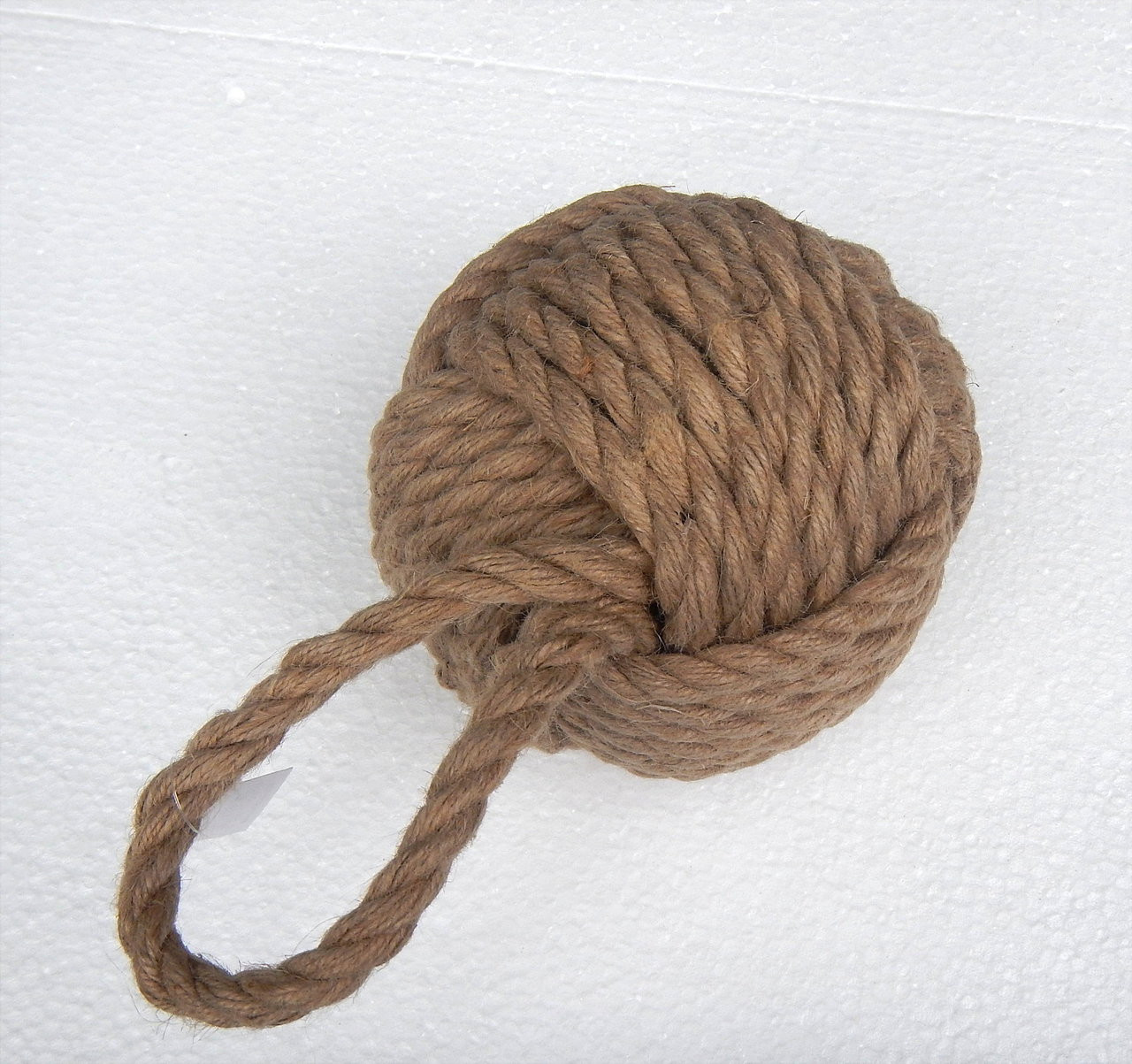 Rustic Door Stopper Big Rustic Nautical Rope Doorstop
