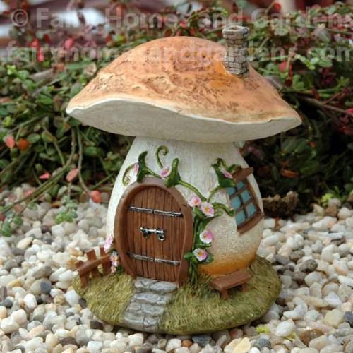 Medium Of Mushroom Fairy Garden