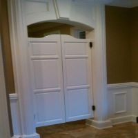 Double Swinging Kitchen Doors  Wow Blog