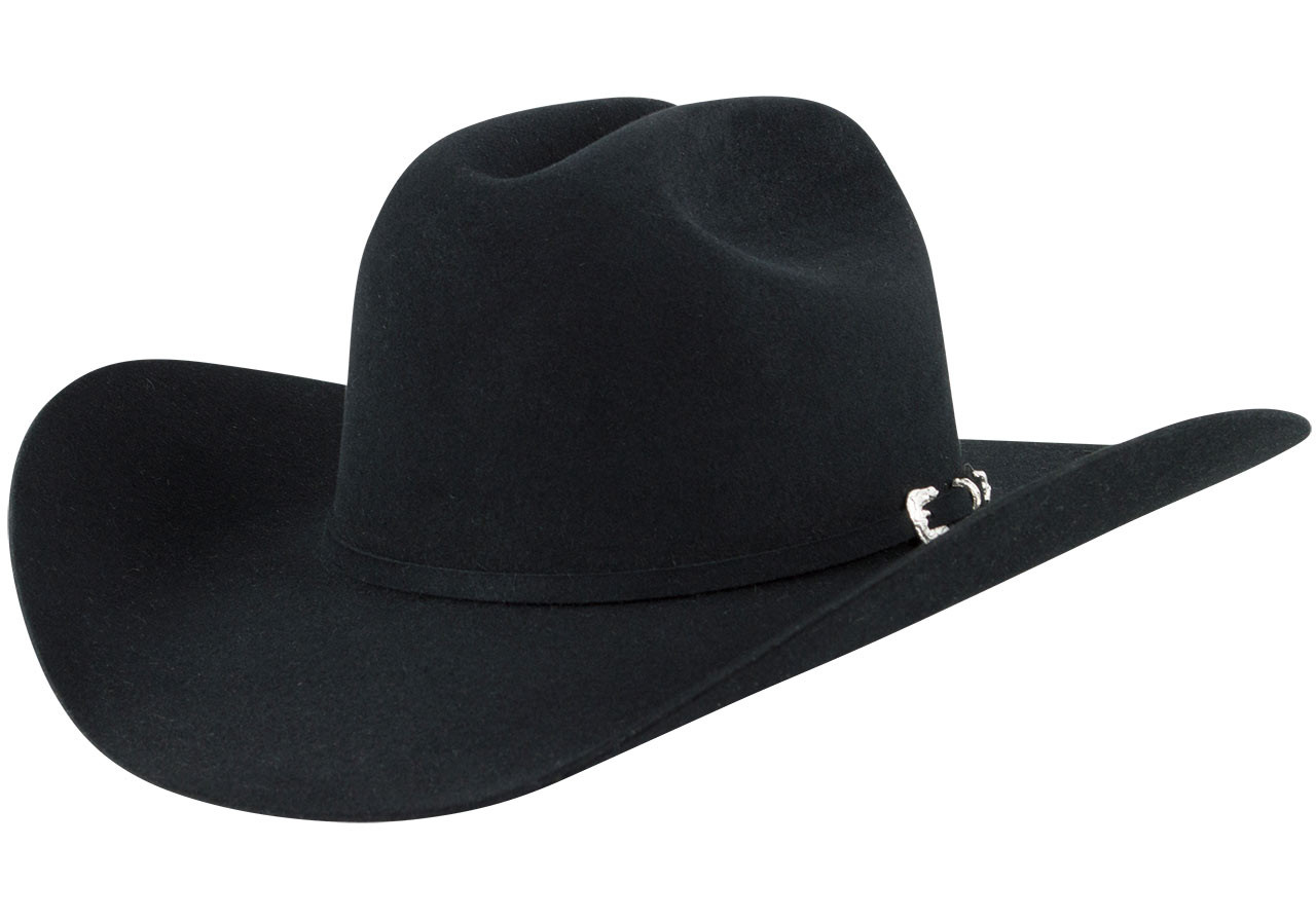 Stetson 5x Lariat Felt Hat Black Pinto Ranch