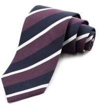'Old Olavians' Regimental Stripe Tie by Gitman Brothers ...