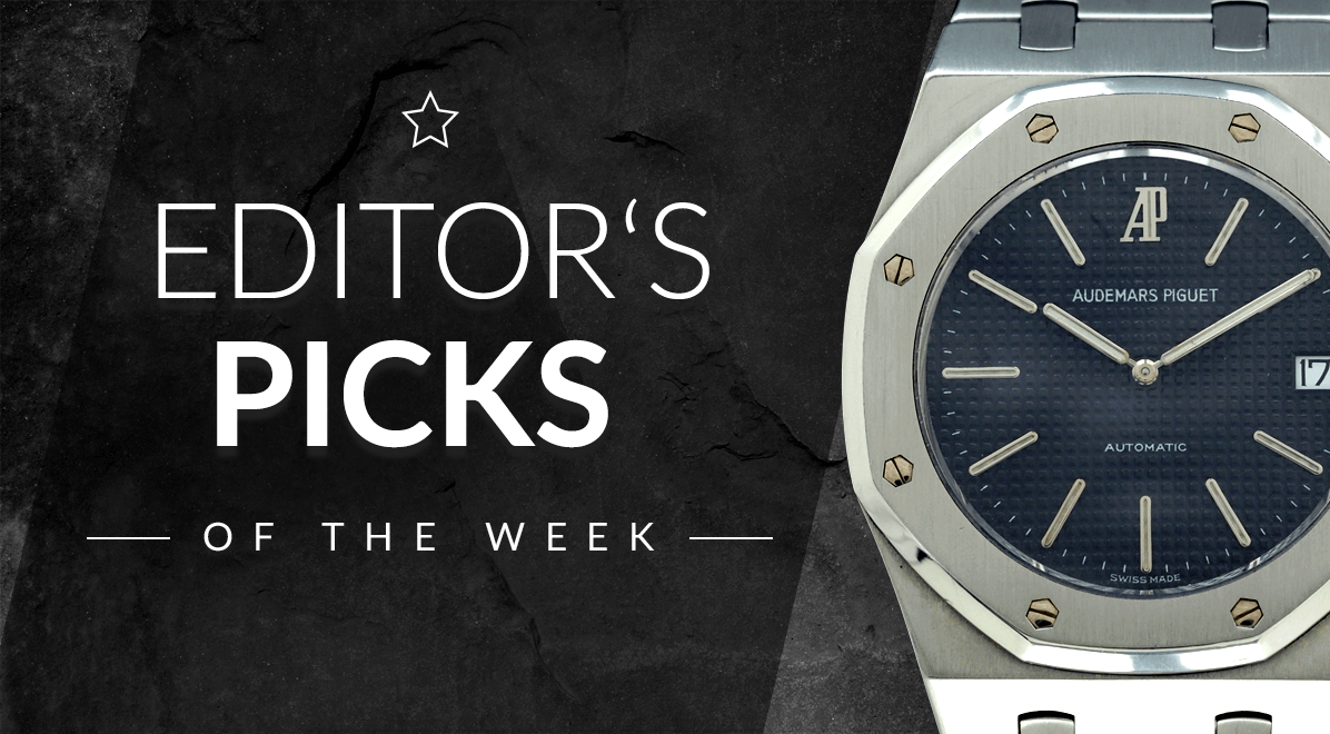 Rolex Patek Editor S Picks Of The Week Tag Heuer Patek Philippe And Rolex