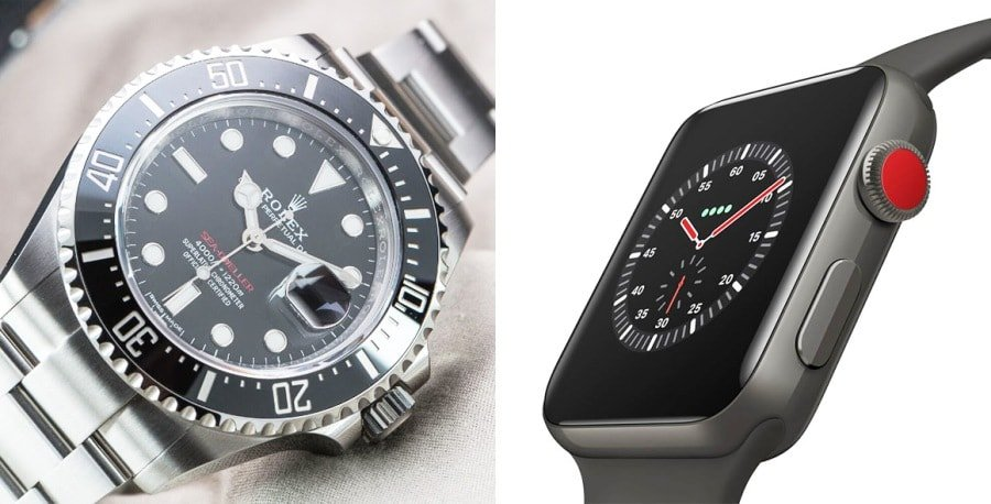 Silicon Valley Vs Geneva Smartwatches Vs Mechanical - Uhren Wie Rolex