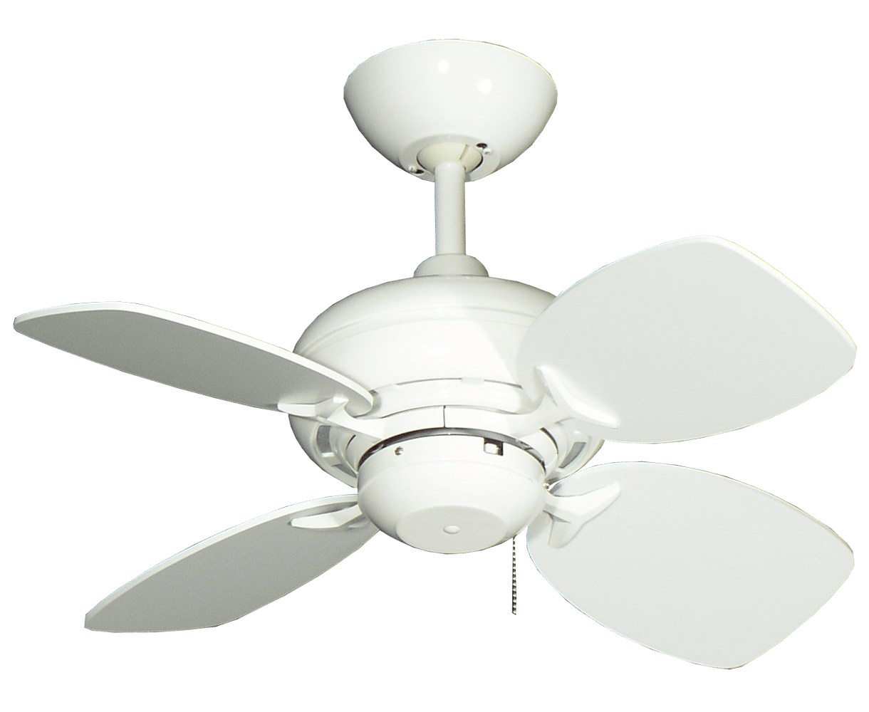 Mini Ceiling Fans 26 Quot Mini Breeze Ceiling Fan In Pure White Dan 39s Fan City