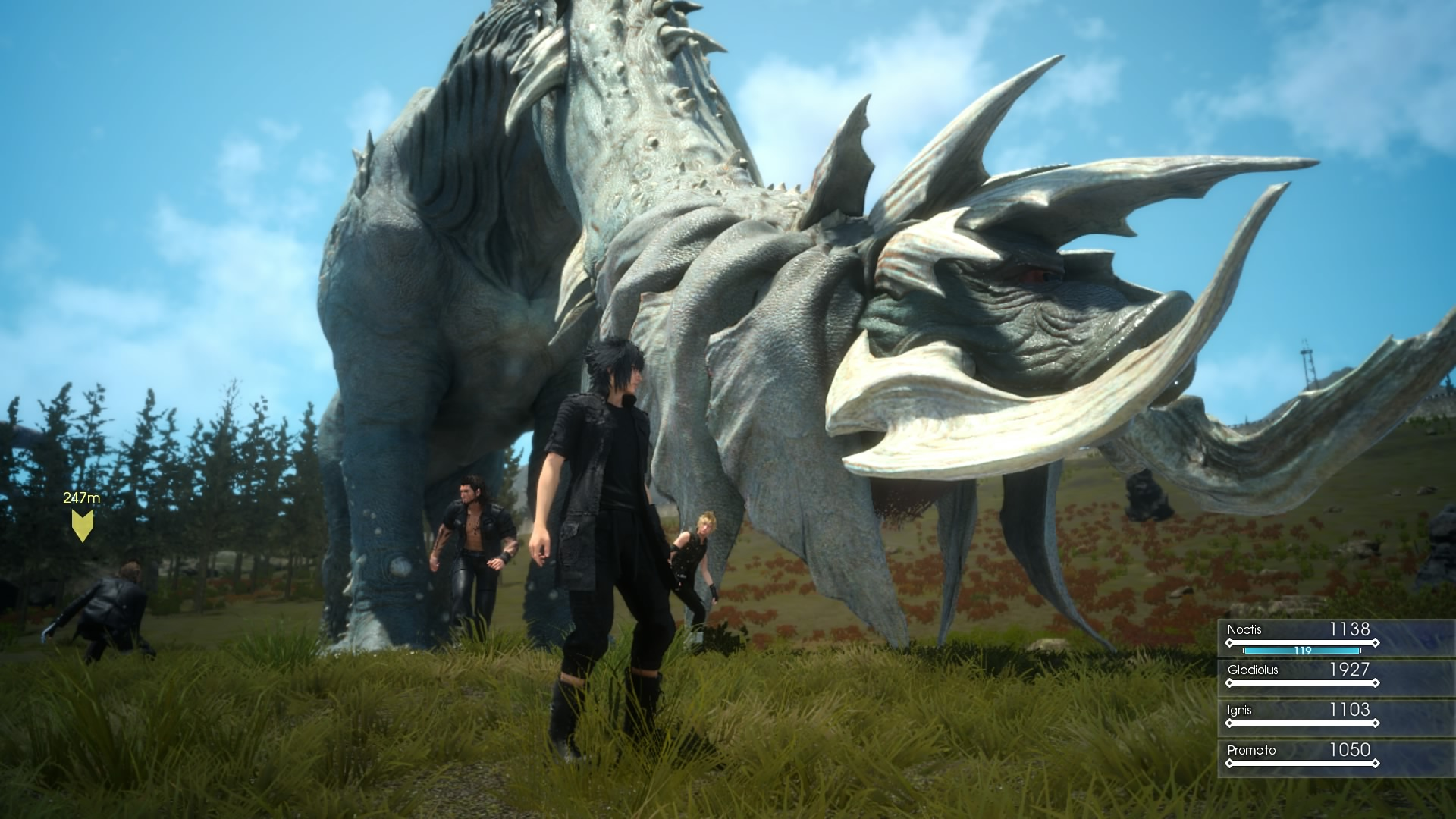 Bos Gladiolen Final Fantasy Xv Episode Duscae Videos Show How To Kill