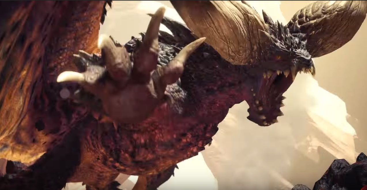 Tattoo Iphone 6 Wallpaper Monster Hunter World Gets New Ps4 Gameplay Showing