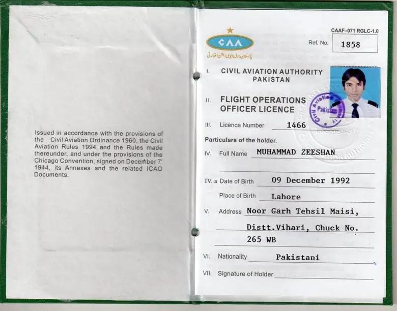 FLIGHT OPERATION OFFICER LICENCE Freelancer