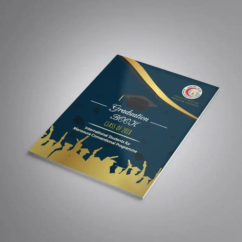 Graduation Book cover Freelancer