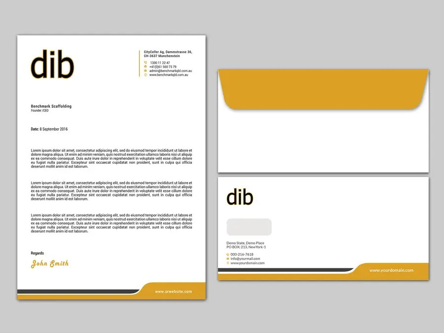 Entry #10 by kushum7070 for Design our software company letterhead - letterhead and envelope design