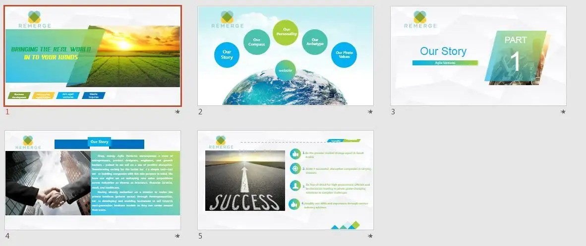 Entry #3 by mohmedrashed for Microsoft PowerPoint Design Theme