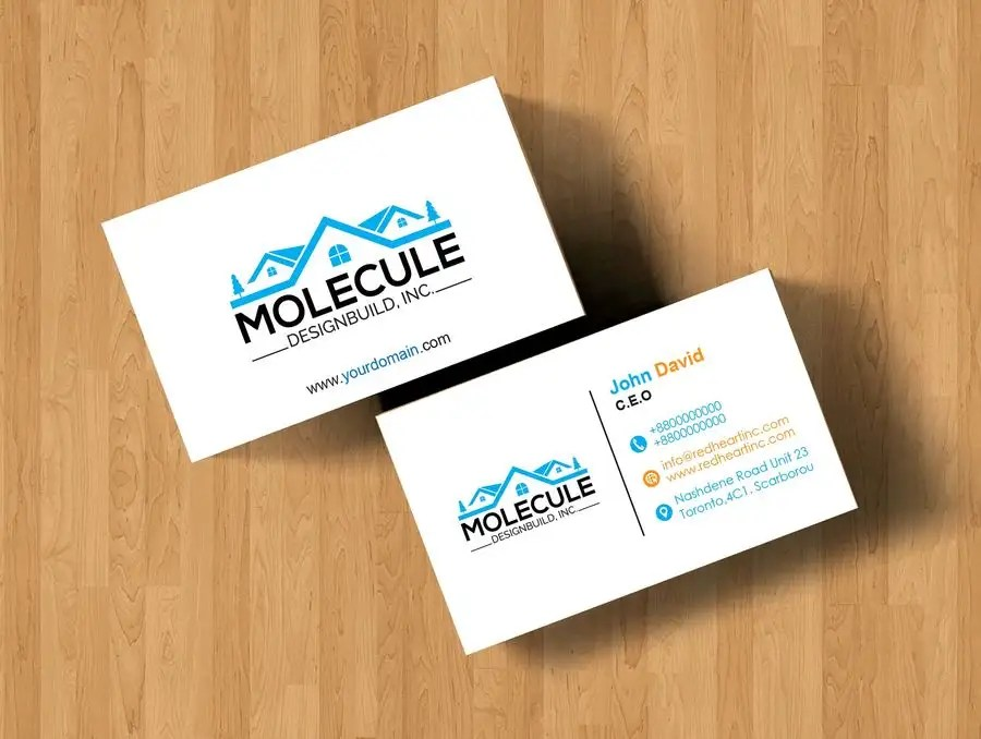 Entry #52 by Linkon293701 for 2 sided Business Card Layout  Logo