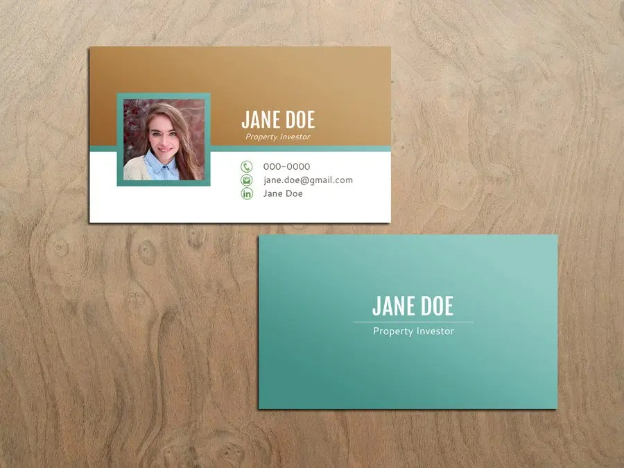Entry #52 by OlgaRadzikh for Personal Business Cards - design for a